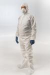 Многоразовые защитные костюмы MGtex и дезинфицирующая станция «Перекса»